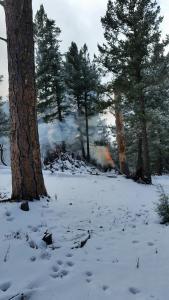 Prescribed Fire Operations - Perk project north of Ruidoso