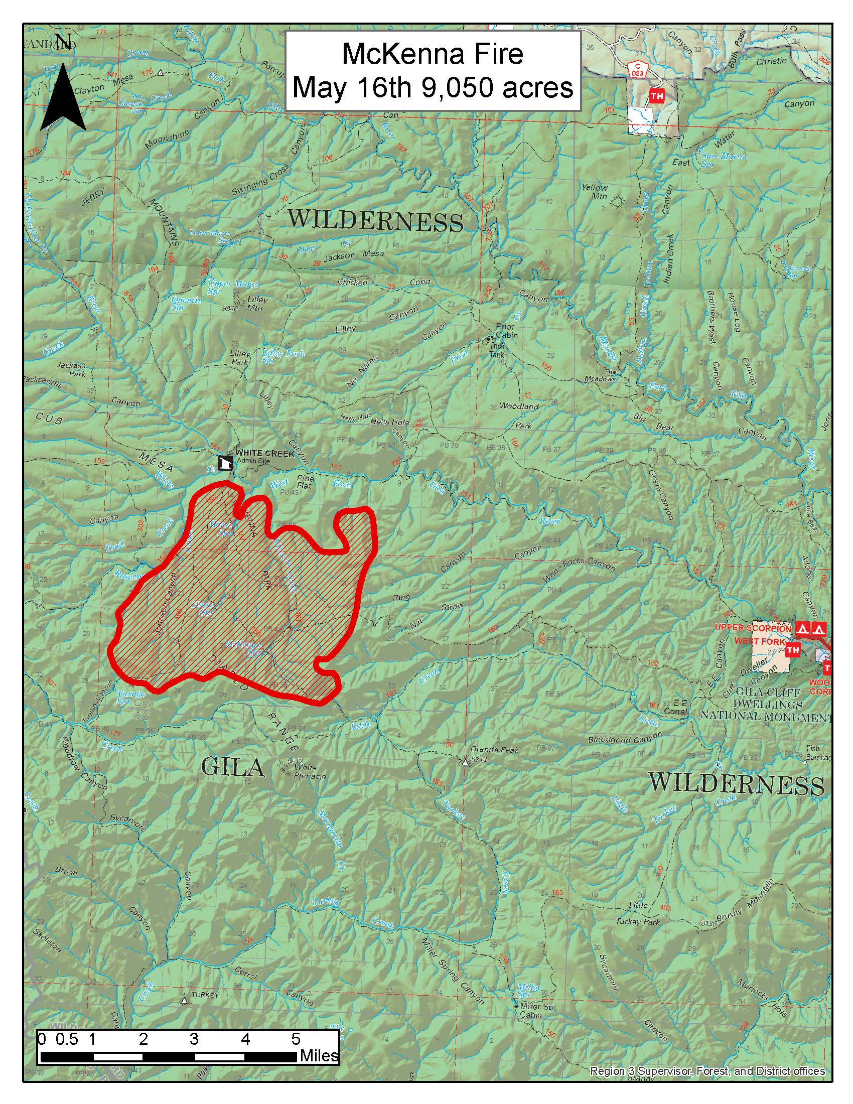 Gila National Forest Mckenna Fire Update Nm Fire Info