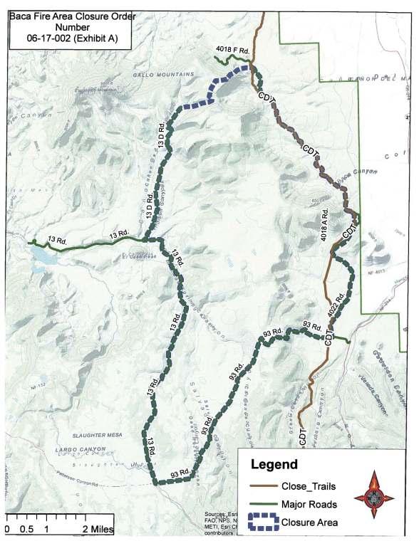 Map Baca Fire