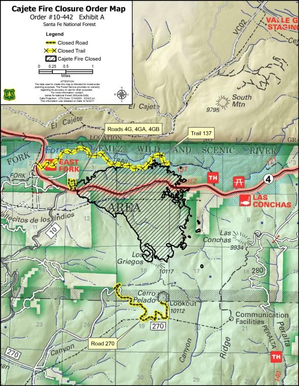 closure order burn area map