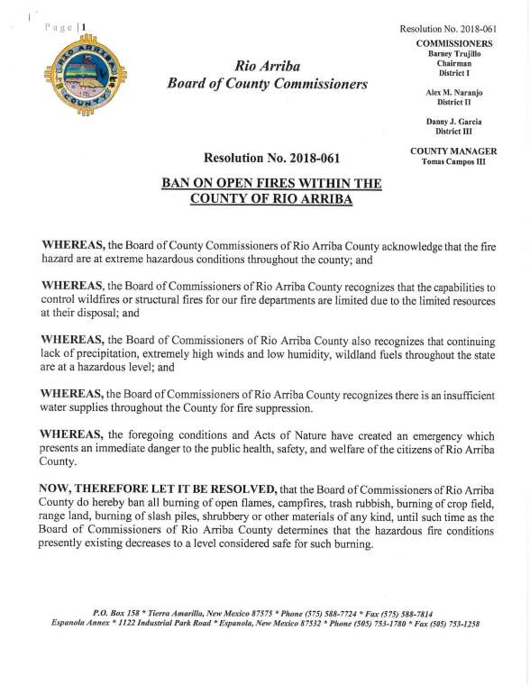 Rio Arriba County.Fire restrictions.2018_Page_1