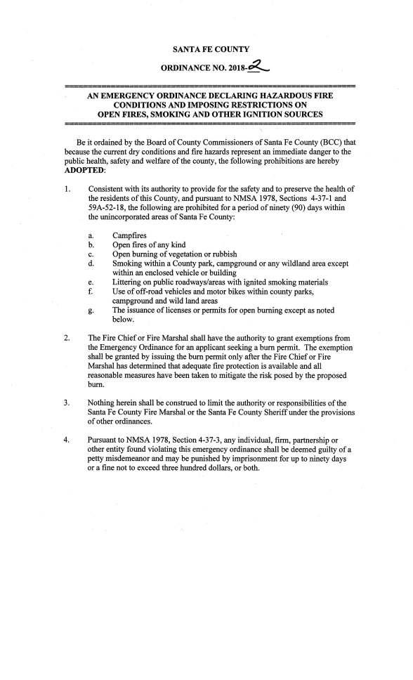 Santa Fe County Burn Ordinance_2018_Page_1