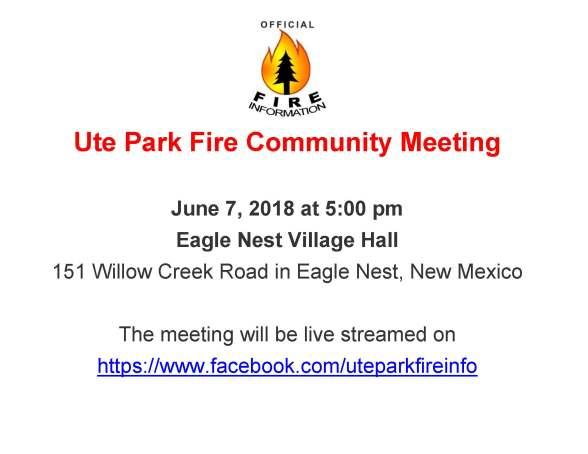 Ute Park Fire Info Flyer_06_07_2018_PubMtg